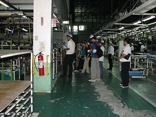 タカニチフィリピン工場見学に行く
