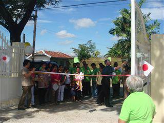 2010ツマナ小学校竣工式