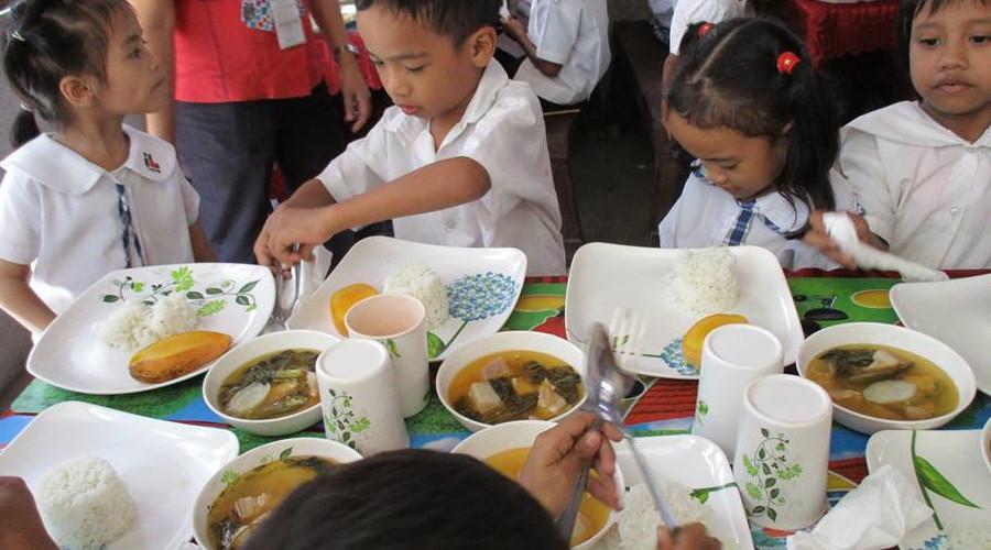 栄養失調児救済事業のイメージ